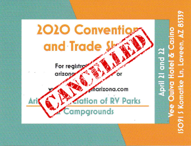 azarv 2020 convention is cancelled